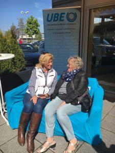 mit Ilse Dölle auf dem Blauen Sofa