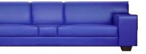 UBE auf dem blauen Sofa