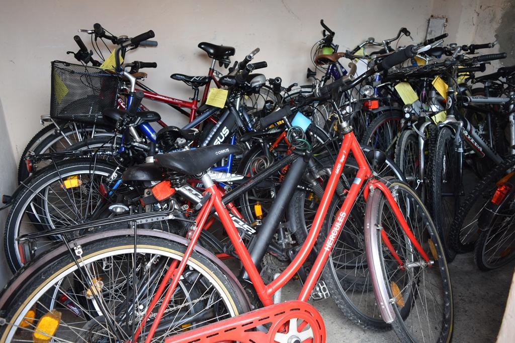 Fund-Fahrräder