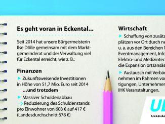 Es geht voran in Eckental Wirtschaft und Finanzen