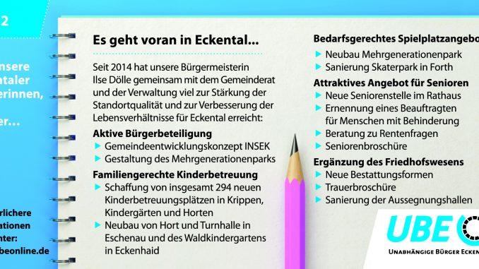 Es geht voran in Eckental Lebensbedingungen