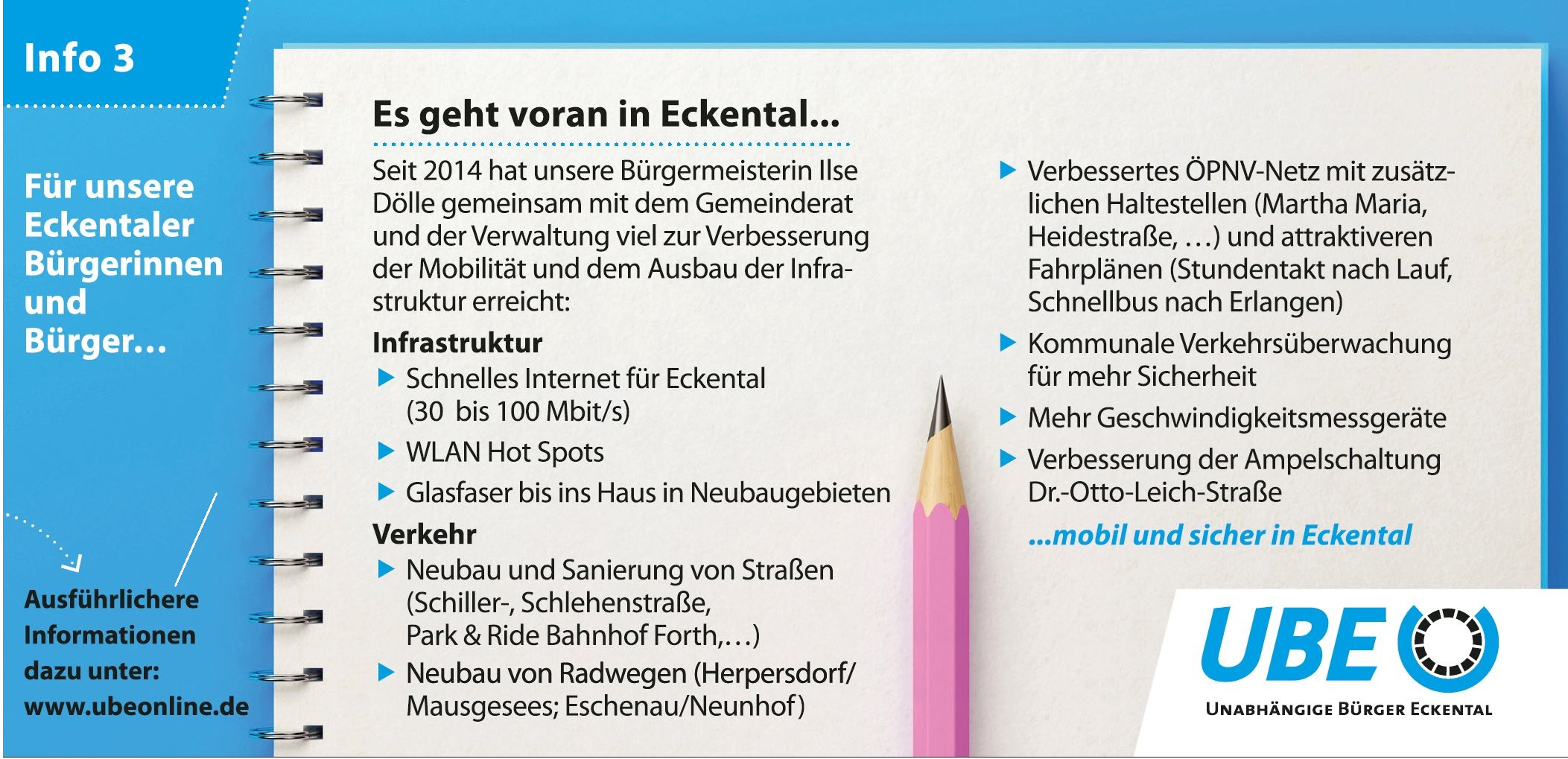 Eckental Infrastruktur und Verkehr