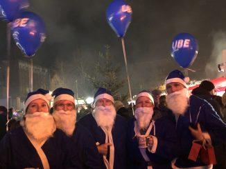 UBE Weihnachtsmann Aktion
