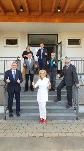 konstituierende Sitzung - UBE Gemeinderäte mit Ille Dölle